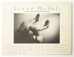 Duane Michals Photographs with Written Text