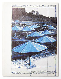 Christo: The Umbrellas Joint Project for Japan and USA, Drawings and Collages
