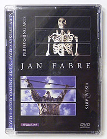 Jan Fabre DVD Performing Arts and Visual Arts