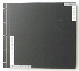 ジョセフ・コスース コンセプチュアル・アートの軌跡 1965-1999
