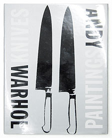 Knives Paintings, Polaroids and Drawings | Andy Warhol