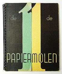 De 11 de Papiermolen Tijdschrift voor de grafische vakken | N.V. BUHRMANN-Amsterdam