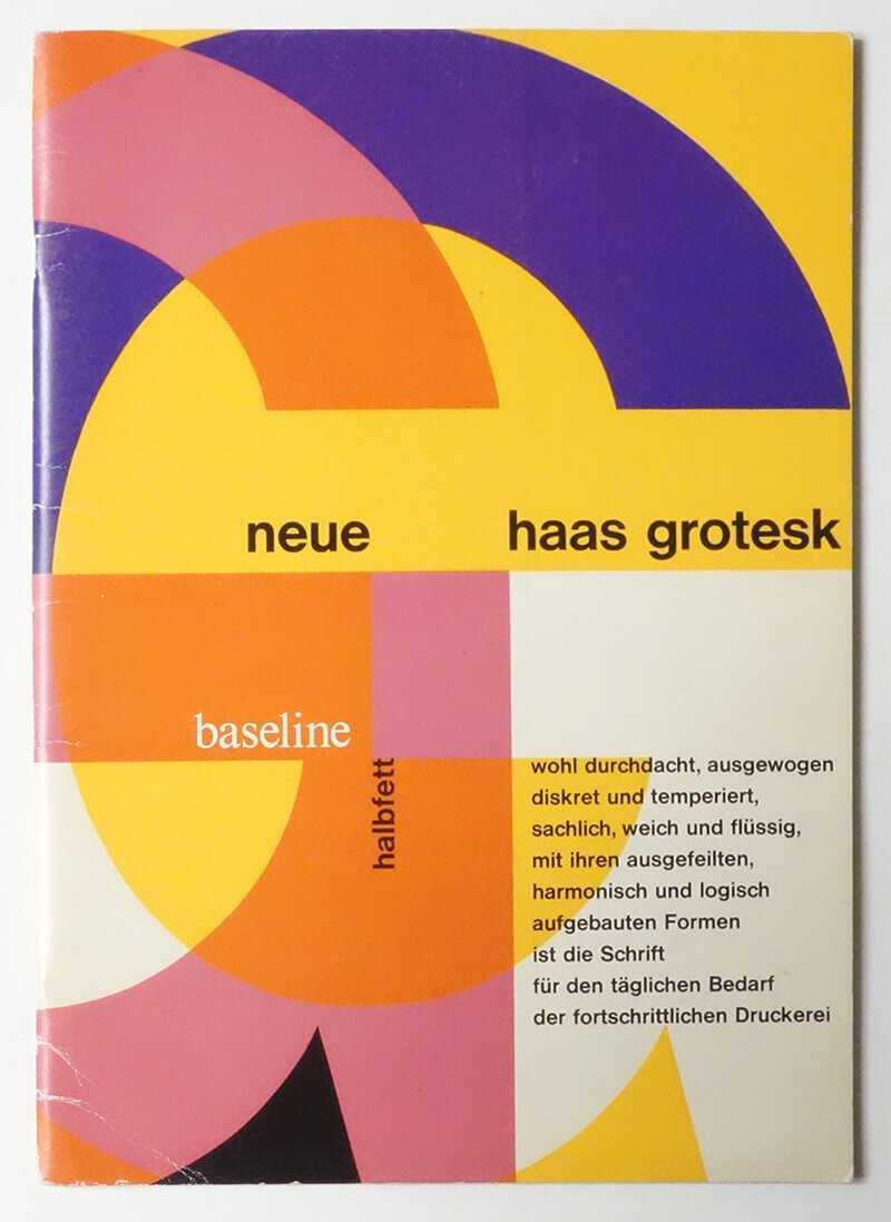 Baseline International Typographics Journal #14 Sans Serif Issue