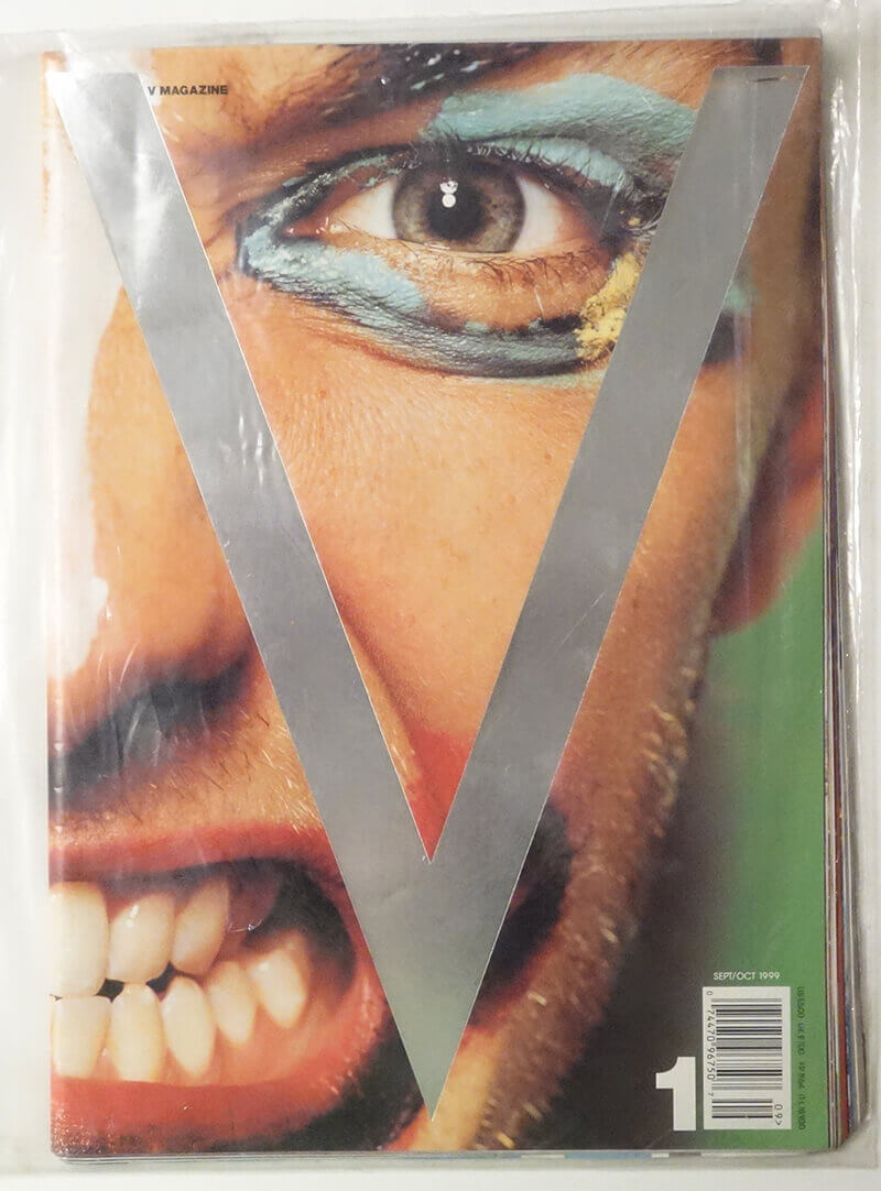 V magazine #1 Premiere Issue: Ah, Men!