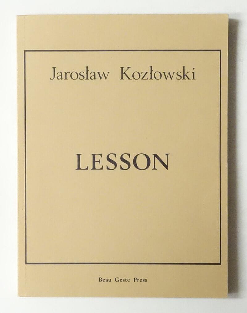Lesson | Jaroslaw Kozlowski