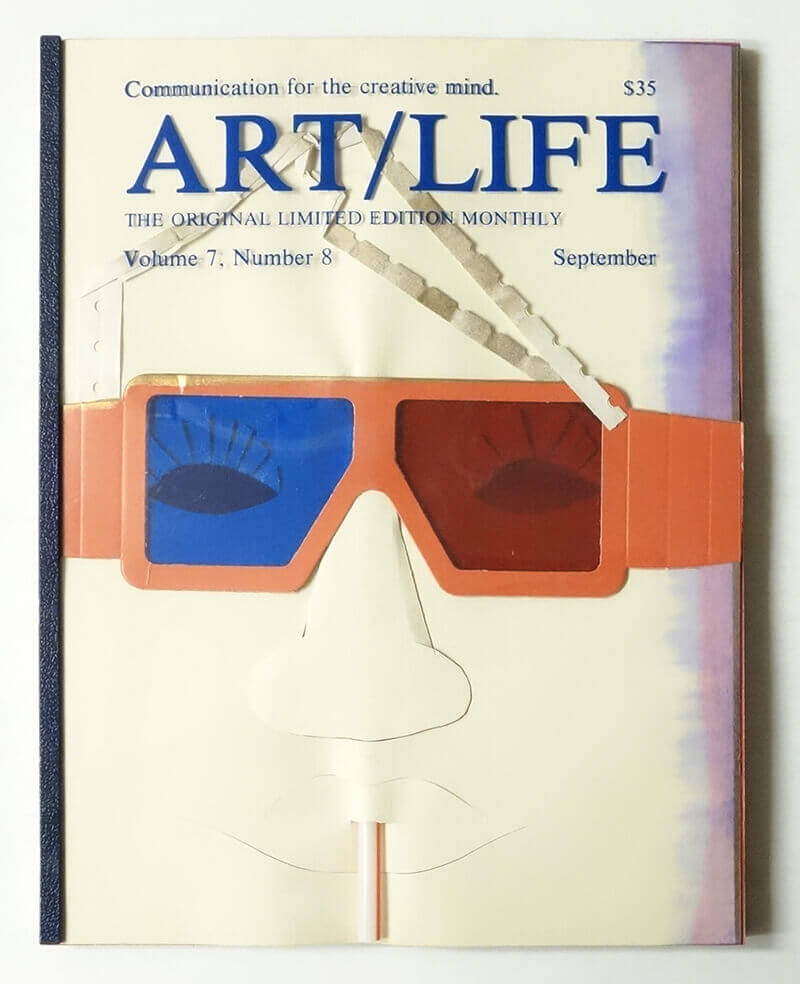 ART/LIFE: Communication for the creative mind. Volume 7, Number 8 September 1987