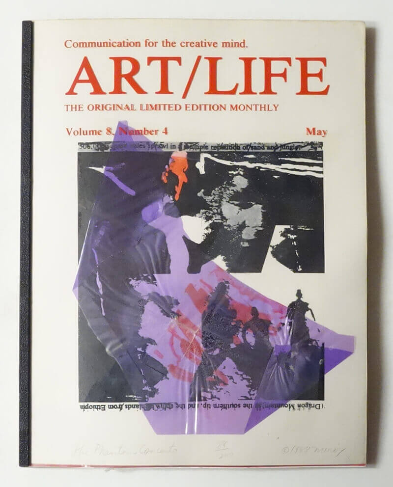 ART/LIFE: Communication for the creative mind. Volume 8, Number 4 May 1988