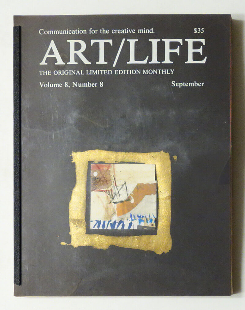 ART/LIFE: Communication for the creative mind. Volume 8, Number 8 September 1988