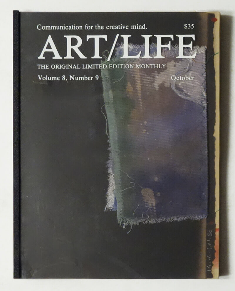 ART/LIFE: Communication for the creative mind. Volume 8, Number 9 October 1988