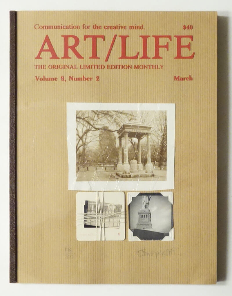 ART/LIFE: Communication for the creative mind. Volume 9, Number 2 March 1989