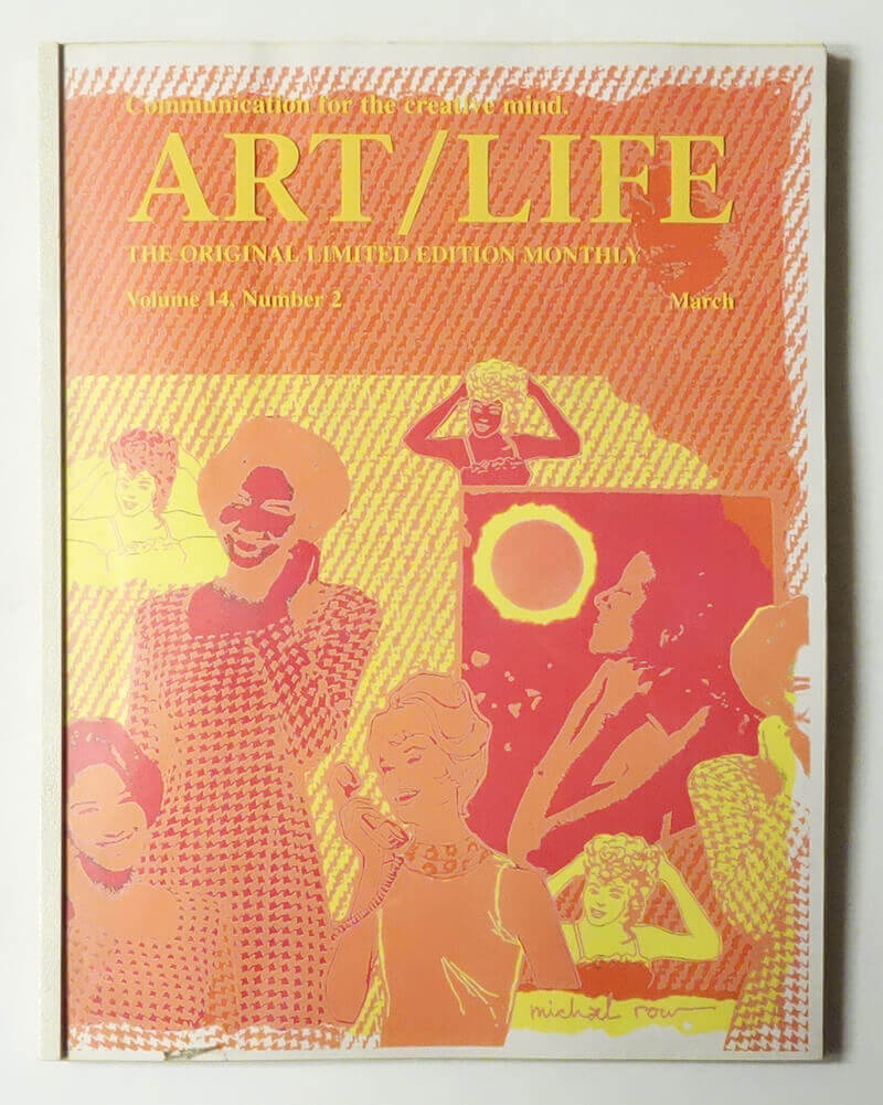 ART/LIFE: Communication for the creative mind. Volume 14, Number 2 March 1994