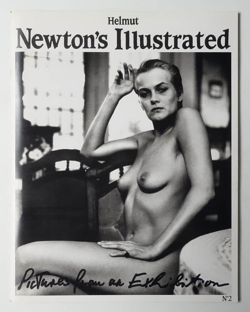 Helmut Newton's Illustrated n.2 Pictures from an Exhibition