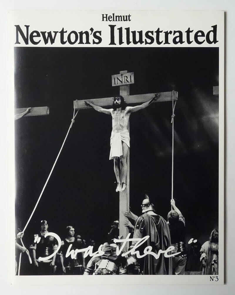 Helmut Newton's Illustrated n.3 ''I was there''