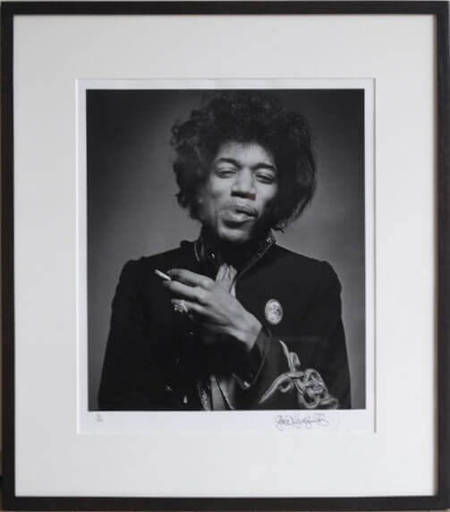 Jimi Hendrix, Smoking (Smile), 1967 Edition of 50 | Gered Mankowitz