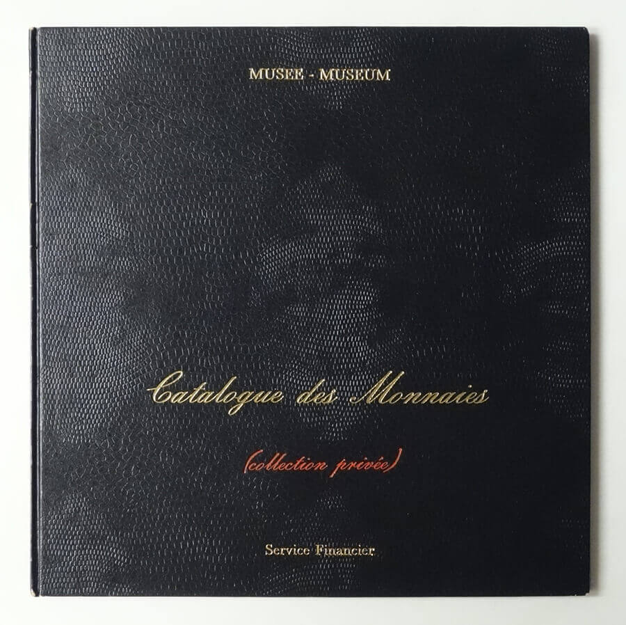 Catalogue des Monnaies (Collection Privee) | Marcel Broodthaers
