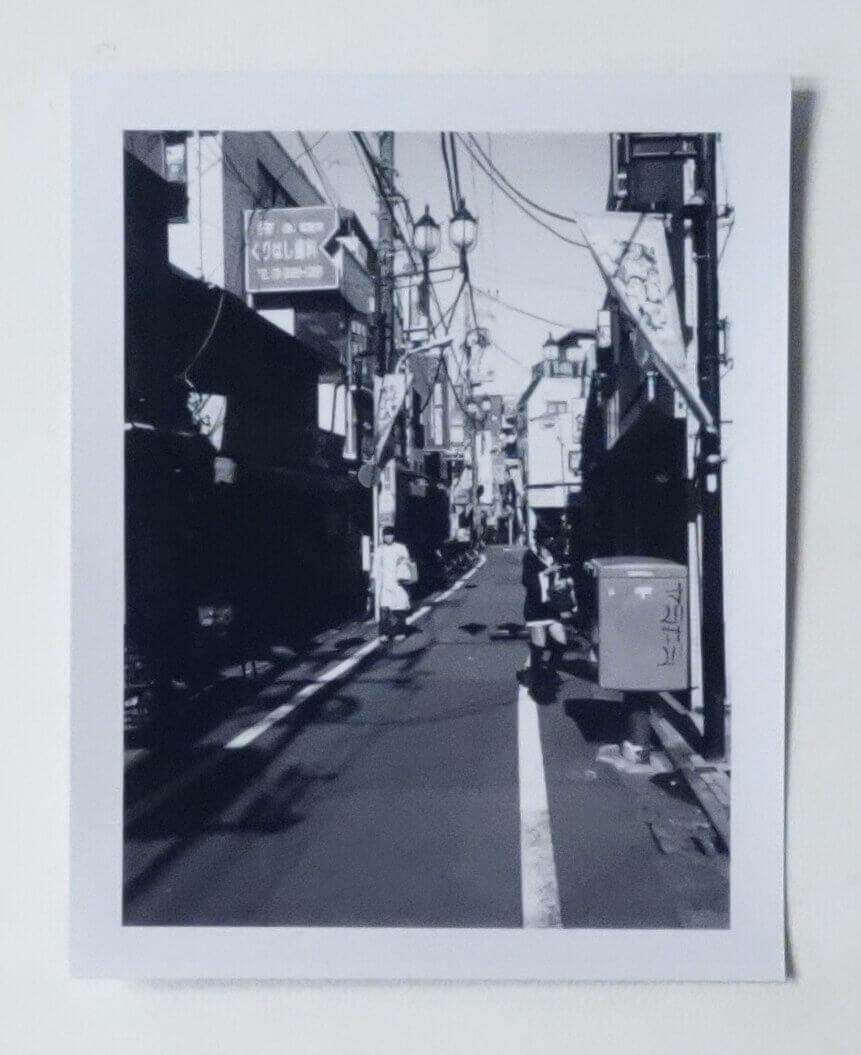 森山大道ポラロイド作品 記録 No.13 #3