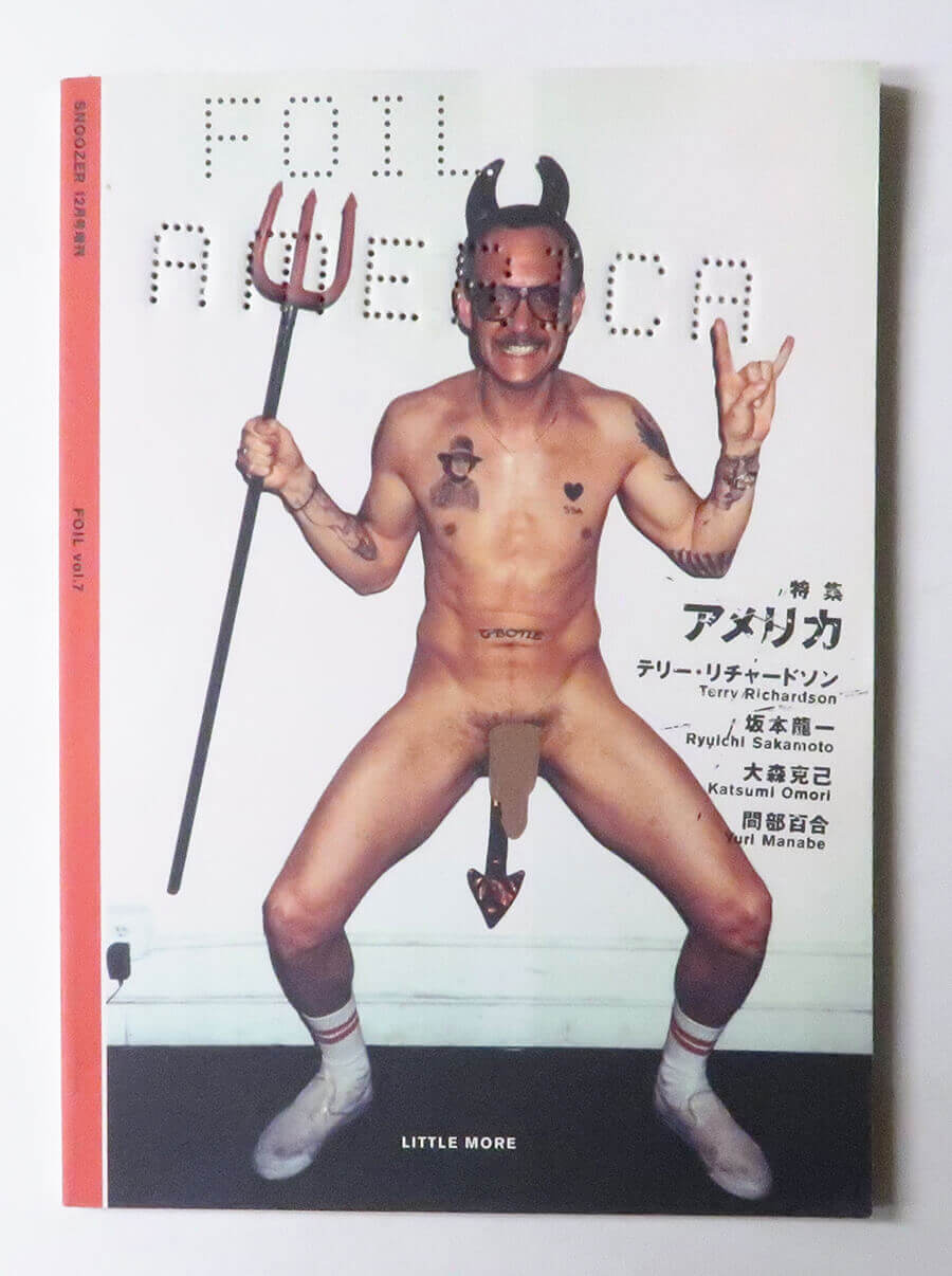 FOIL vol.7 アメリカ Snoozer 12月号増刊 | Terry Richardson