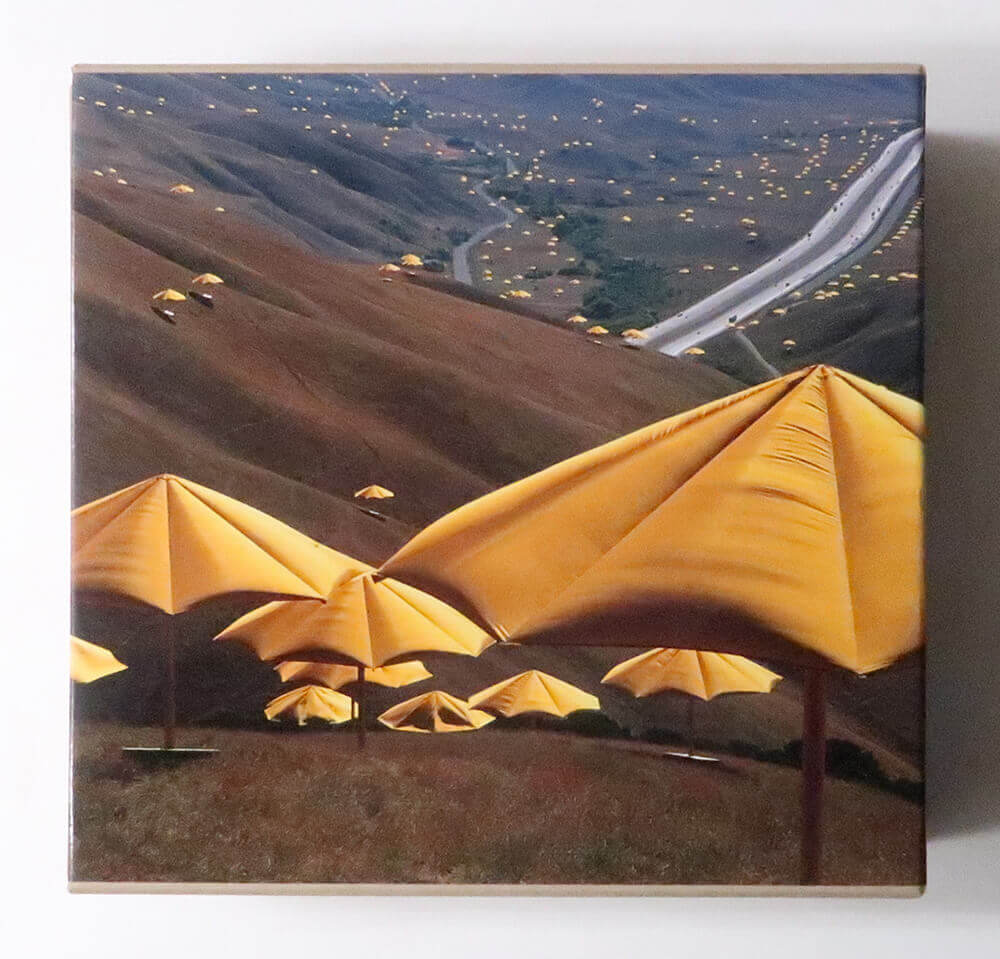 Christo and Jeanne-Claude The Umbrellas: Japan/USA 1984-91