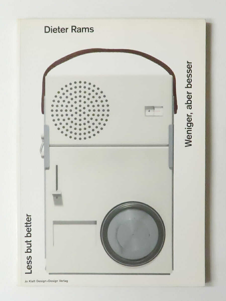 Less but better / Weinger, aber besser | Dieter Rams