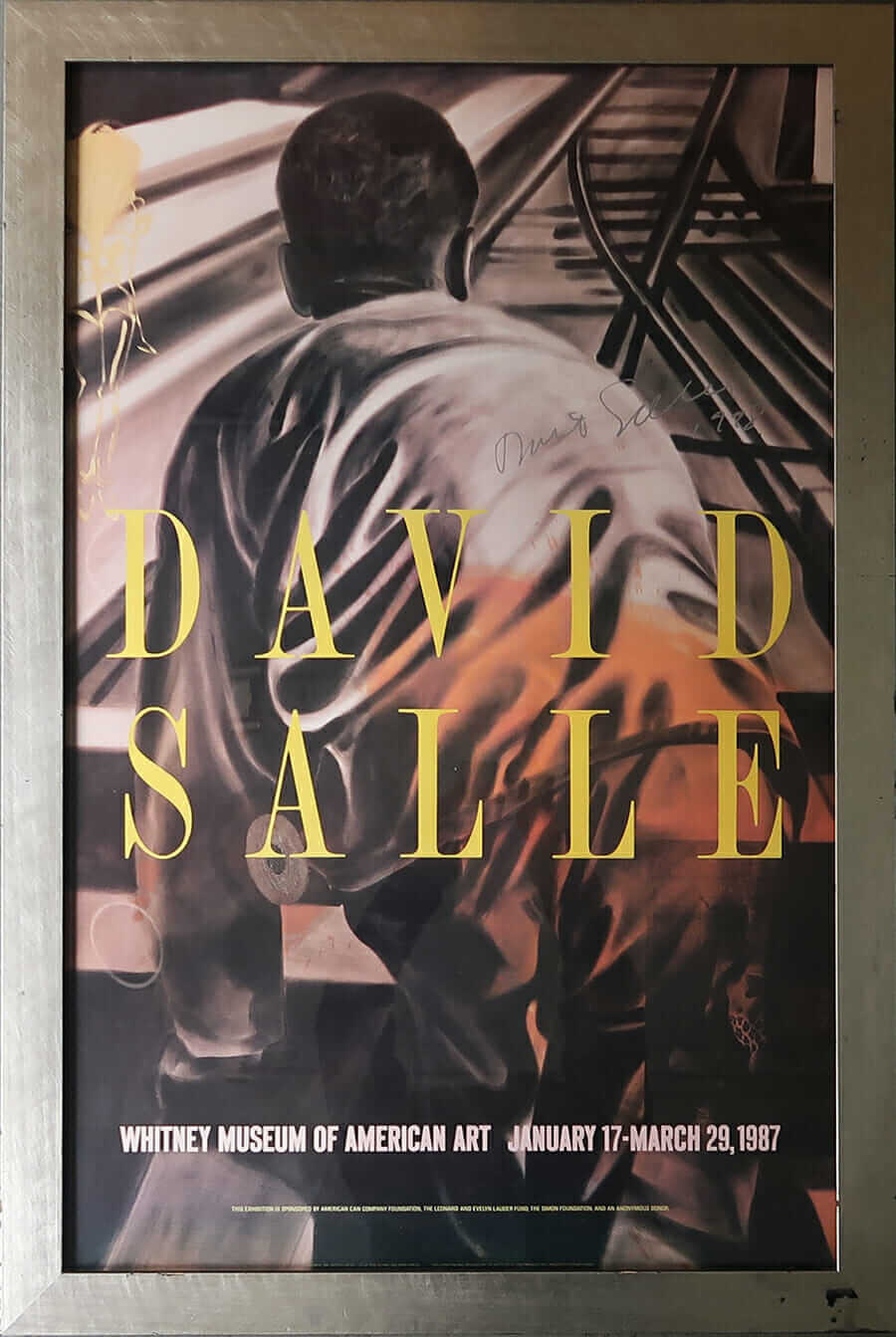 David Salle Whitney Museum of American Art January 17-March 29, 1987
