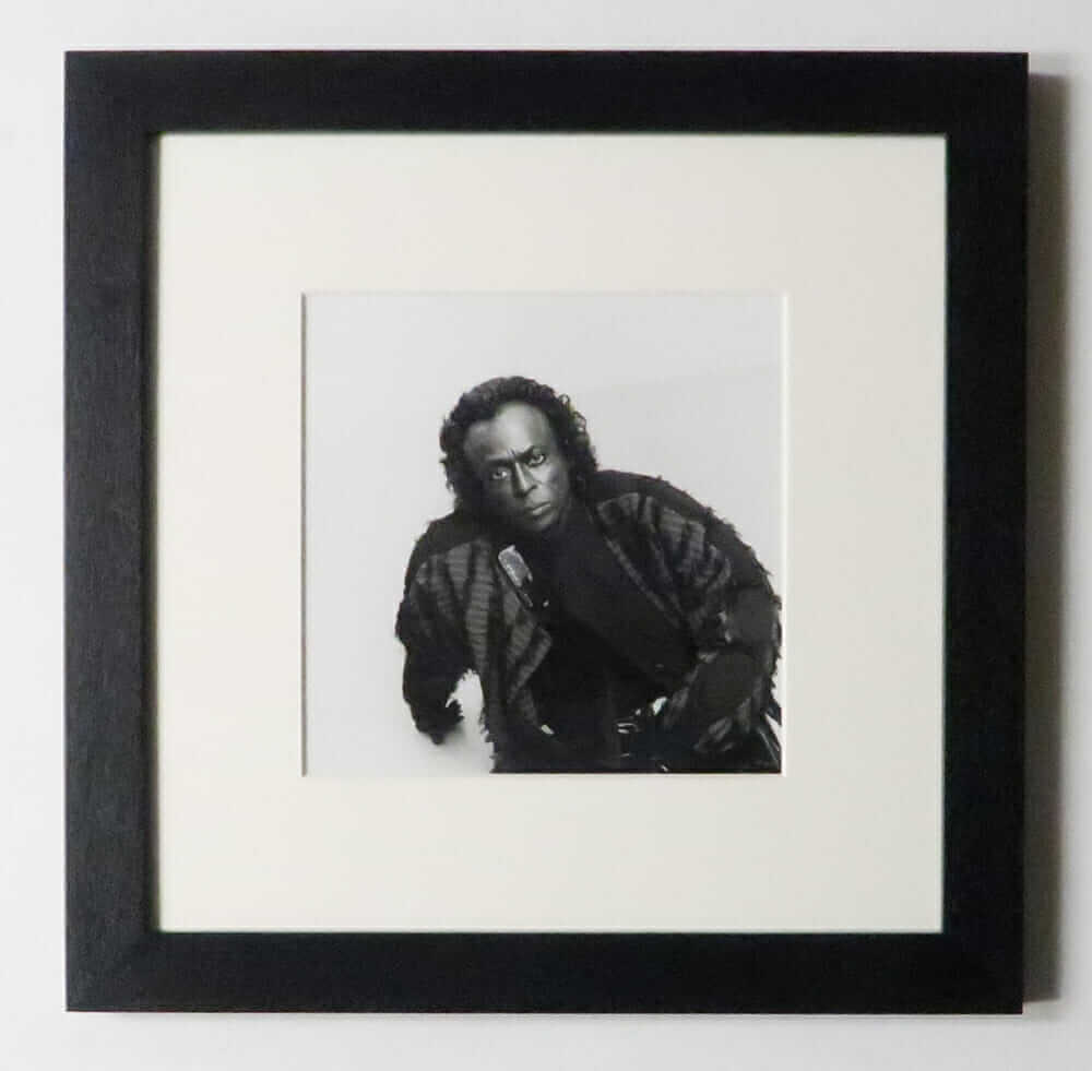 Miles Davis 1989 photographed by 広川泰士