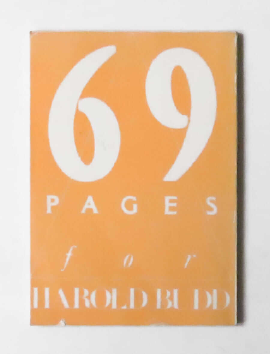69 Pages for Harold Budd