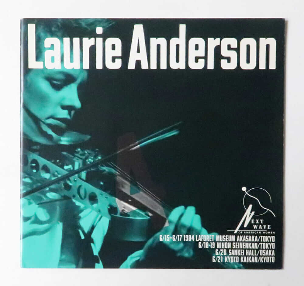 Laurie Anderson (Laforet Museum Harajuku 1984)