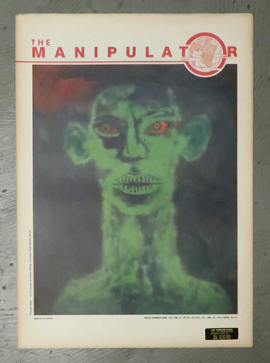 The Manipulator Magazine Issue No.9 1987