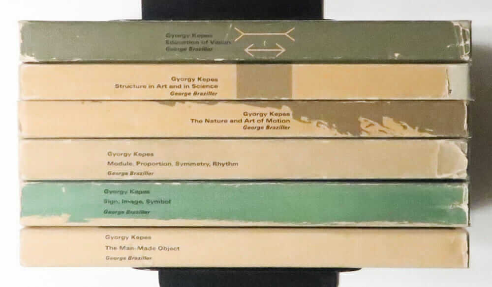 Vision + Value Series Edited by Gyorgy Kepes All 6 Volumes Set