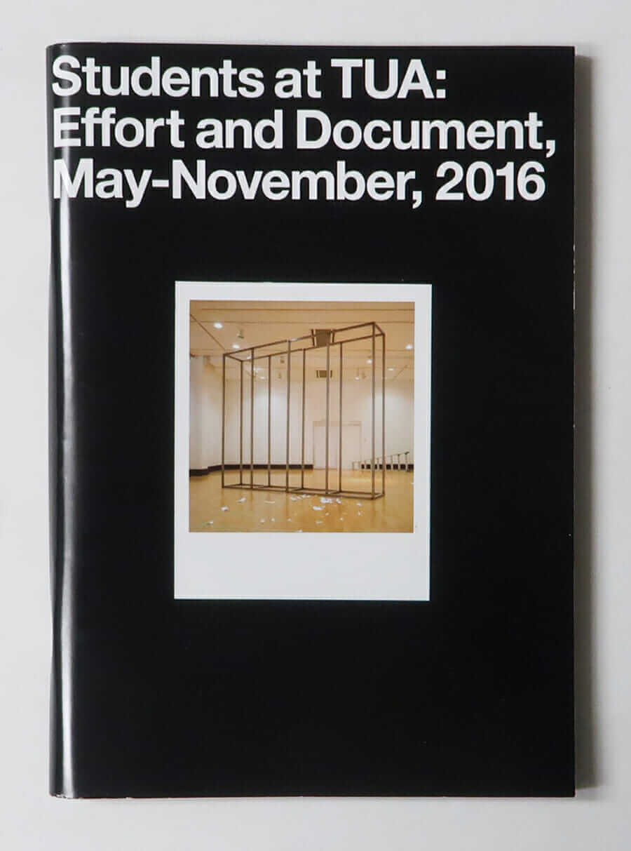 Students at TUA: Effort and Document, May-November, 2016