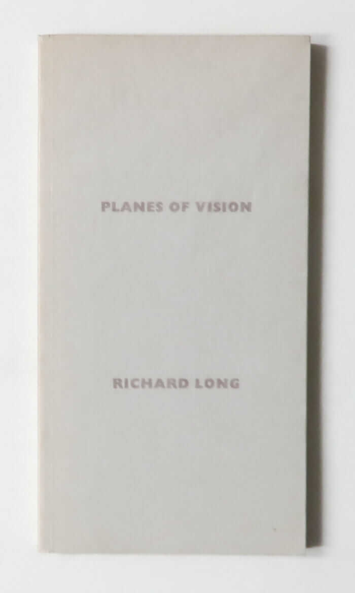 Planes of Vision: A Straight Line of Sight Through 360 Degrees | Richard Long