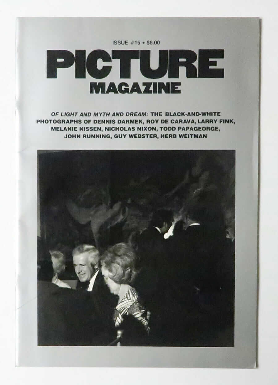Picture Magazine Issue #15 Apr/May 1980 Cover: Larry Fink