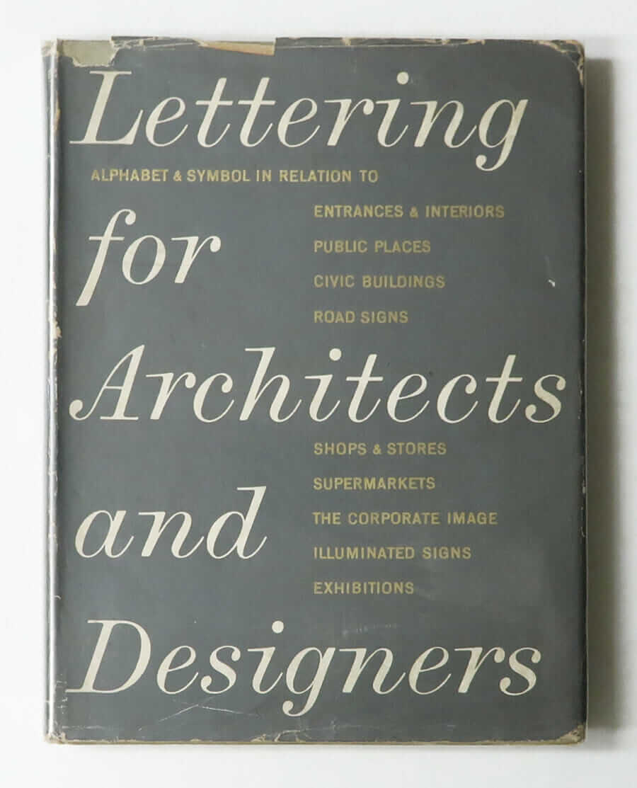 Lettering for Architects and Designers (1962)