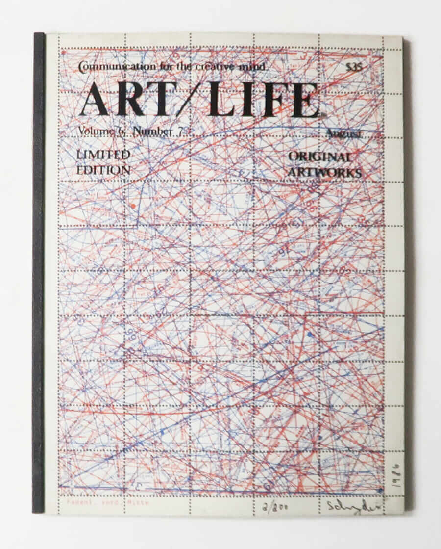 ART/LIFE: Communication for the creative mind. Volume 6, Number 7 August 1986