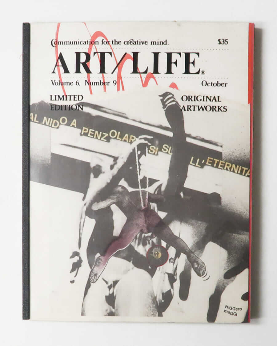 ART/LIFE: Communication for the creative mind. Volume 6, Number 9 October 1986