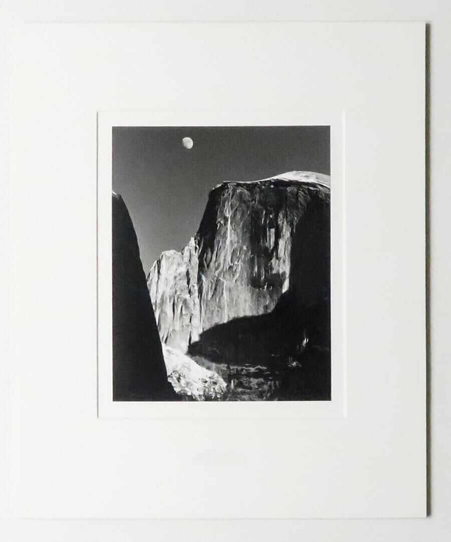 Moon and Half Dome, 1960 | Ansel Adams
