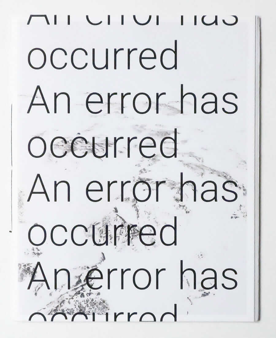 An Error Has Occurred | Rohan Hutchinson