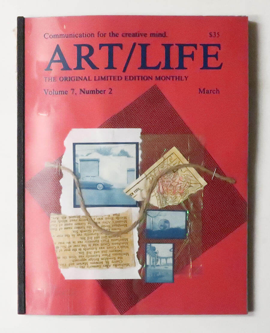 ART/LIFE: Communication for the creative mind. Volume 7, Number 2 March 1987
