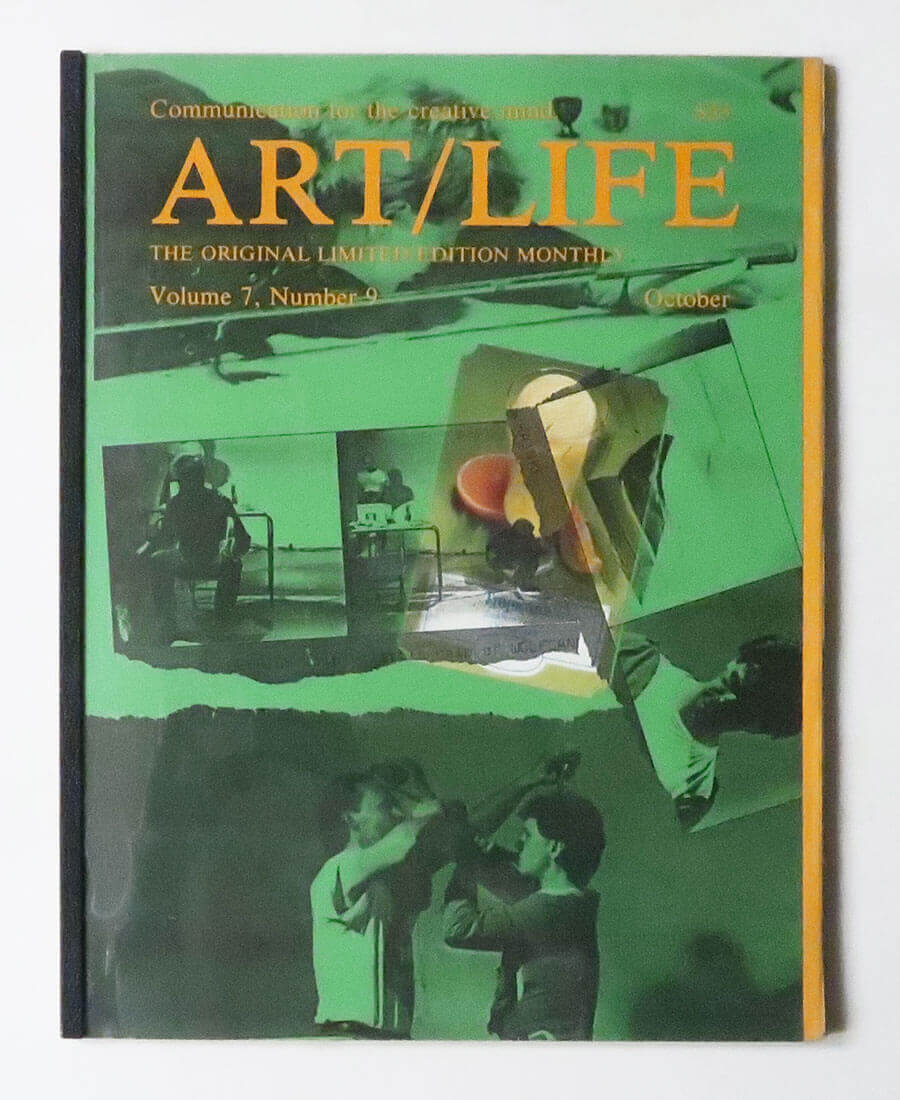 ART/LIFE: Communication for the creative mind. Volume 7, Number 9 October 1987