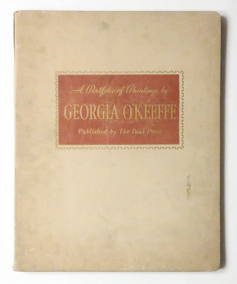 The Work of Georgia O'Keeffe: A Portfolio of Twelve Paintings