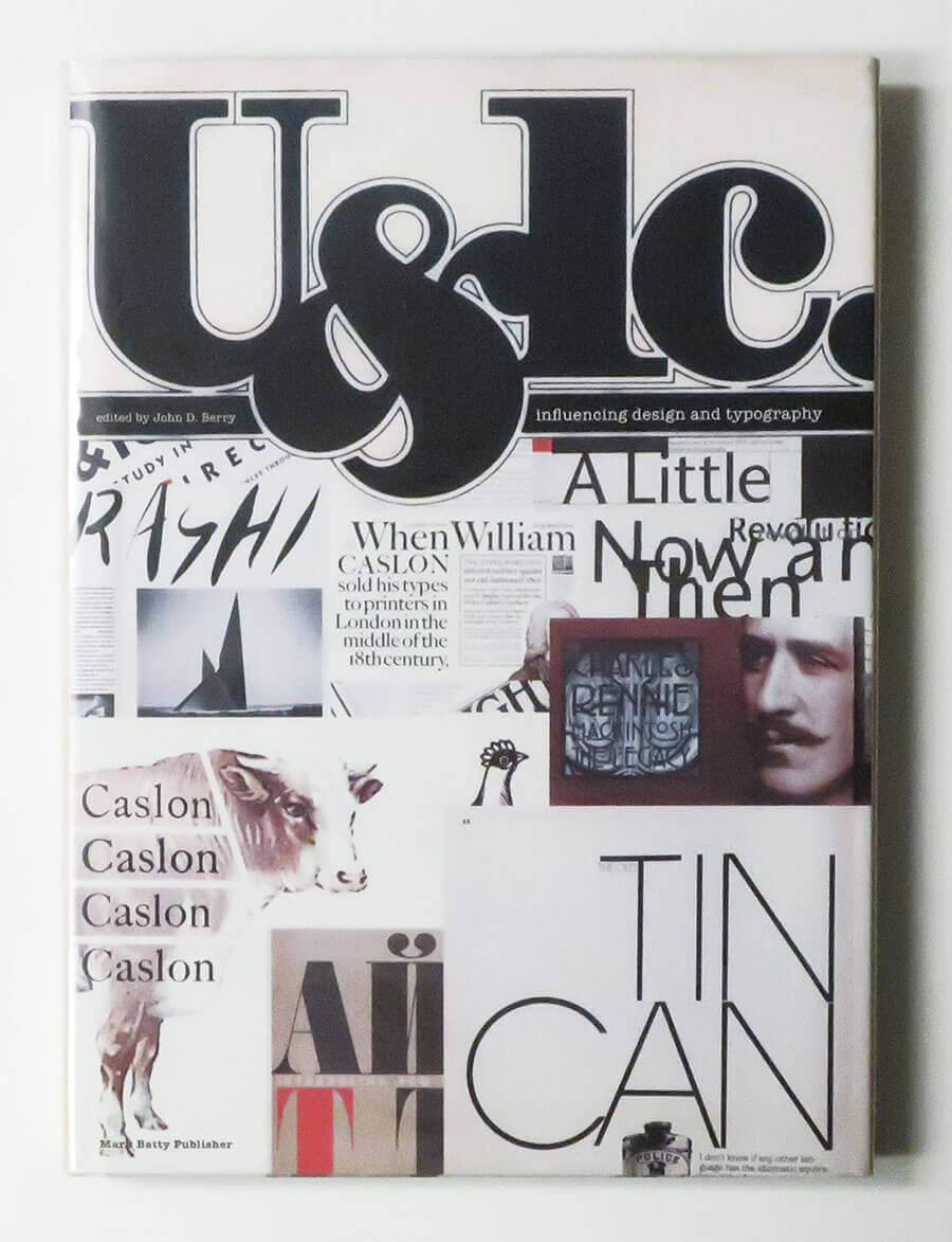 U&lc influencing design and typography