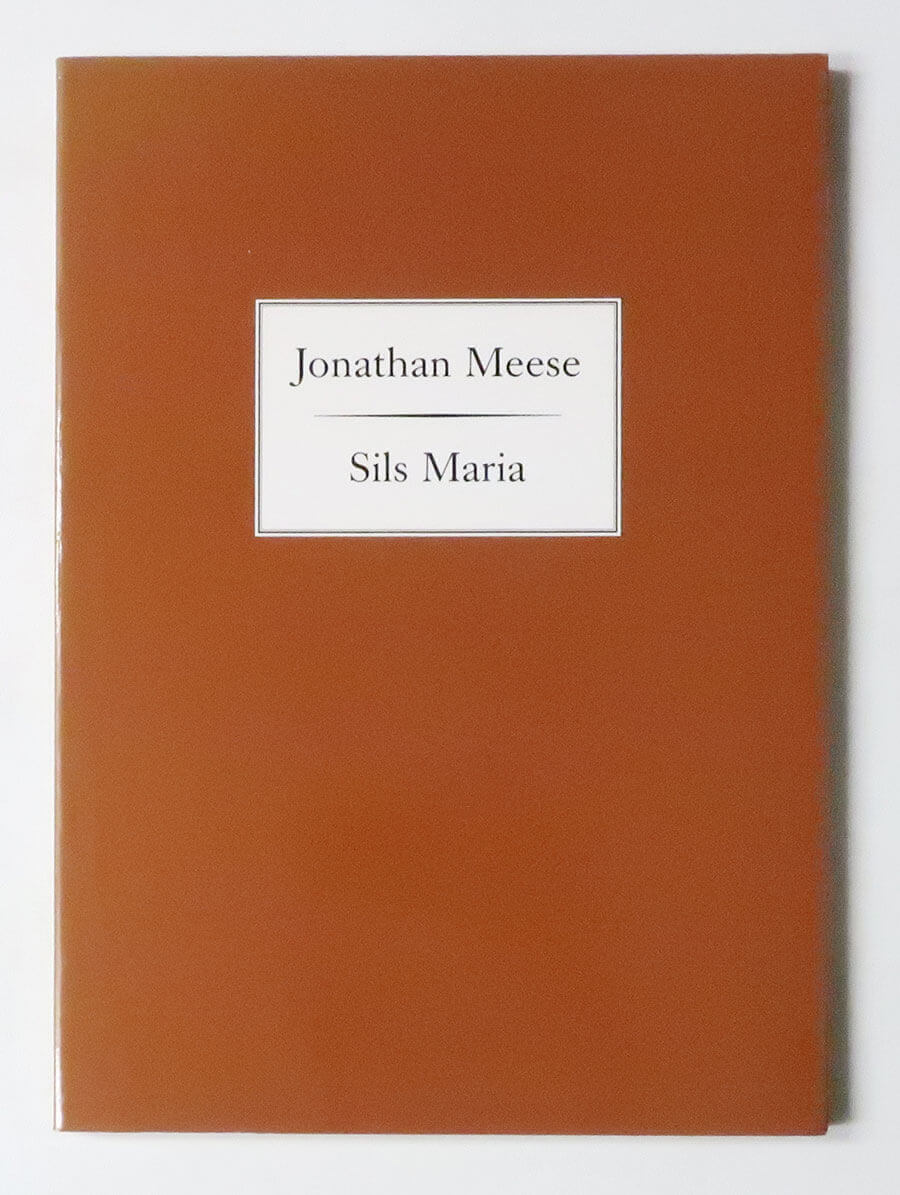 Sils Maria. Pamphlet I | Jonathan Meese
