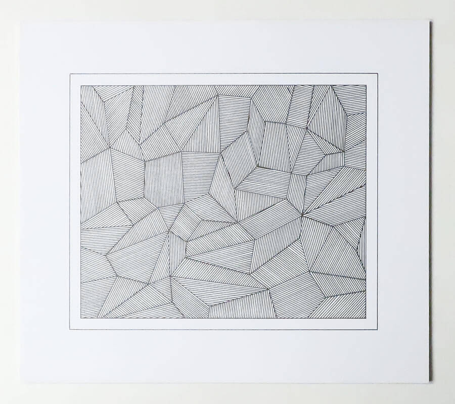 Sol LeWitt. Lines and Formes