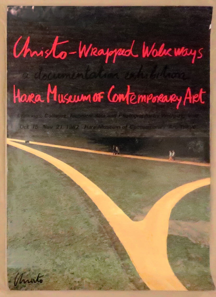 Christo: Wrapped Walk Ways. Hara Museum of Contemporary Art 1982